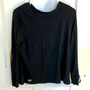 1X black pullover sweater by LRL